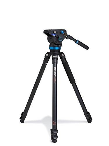 Benro S8 Single Leg Aluminum Video Tripod Kit (A373FBS8)