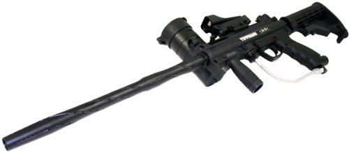 Tippmann A-5 Sniper Paintball Gun with Red Dot