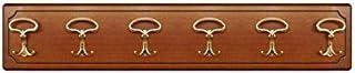Pannello appendiabiti classico e inciso, Cappelliera 6 elementi