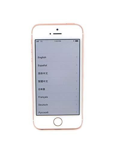 Apple iPhone SE, 16GB, Rose Gold - For Verizon (Renewed)