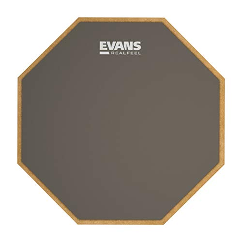 Evans RF12G RealFeel Practice Pad, 12 inch