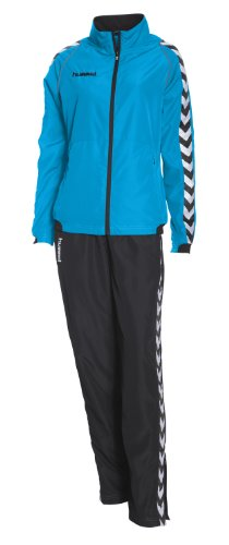 Hummel Damen Trainingsanzug Authentic Micro, diva blue/black, XL, 54-232-7465