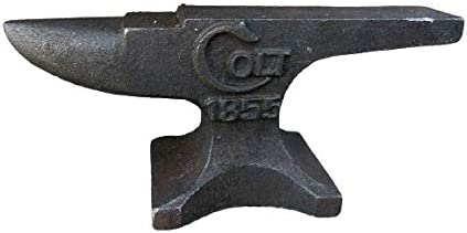 Small Mini Rustic Raised Letter Colt Iron Anvil Many popular brands Jewele 1855 Cast Max 72% OFF