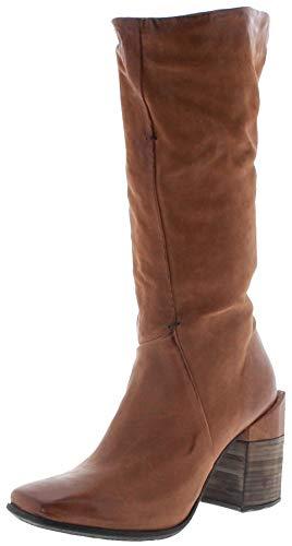 FB Fashion Boots Damen Stiefel 585302 Calvados Airsteps Stiefel Lederstiefel Braun inkl. Schuhdeo 40 EU