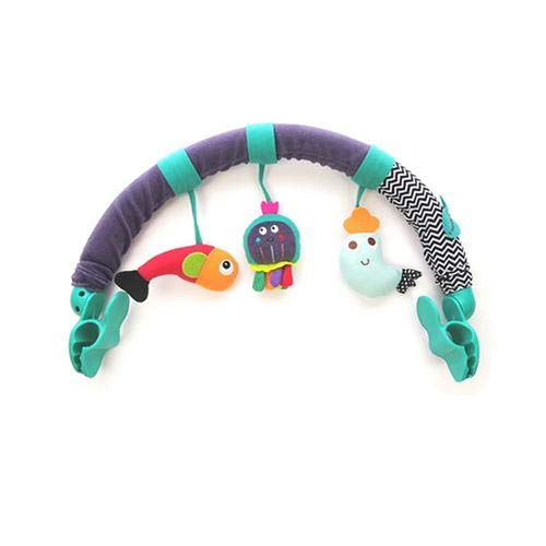 asterisknewly Bebé Cuna Colgante Juguete Arco Colgante Juguetes con Forma De Animal Accesorios De Cochecito De Cuna