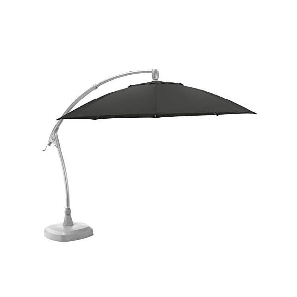 KETTLER Advantage Schirme easy-comfort Ampelschirm Durchmesser 330 cm, UPF 50+, inklusive Abdeckhaube, 0306233-0700…