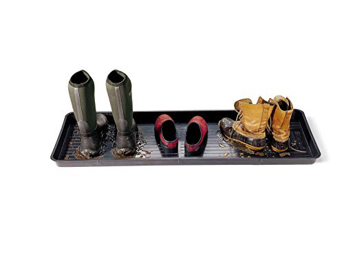 "Gardener's Supply Company Large Boot Tray 46-1/2"" L x 15-1/2"" W and 2"" Deep"