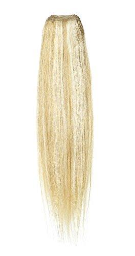 American Dream de qualité Platinum 100% cheveux humains Extensions capillaires 50,8 cm couleur 22/27 – Blond Plage/Blond Riche