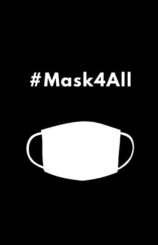 #Mask4All: Black, Practical and Discreet Password Organizer with Alphabetical Tabs - Mask for Everyone
