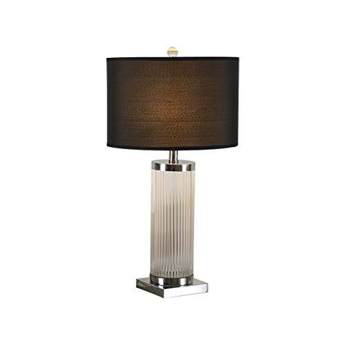 LQ Moderne Minimalist Schreibtischlampe Dimming Kristall Personality Wohnzimmer kreative Schreibtisch-Lampen-Licht-Luxus-Schlafzimmer Nachttischlampe