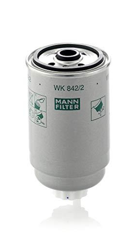 Original MANN-FILTER Kraftstofffilter WK 842/2 – Für PKW, LKW, Busse und Nutzfahrzeuge