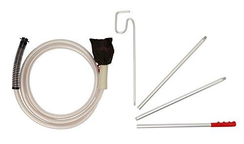 Propress - Kit de accesorios para modelos MD/ME/Pro de limpiadora al vapor (incluye manguera de 3 m y varas de extensión)