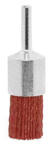 Bosch 2 609 256 540 - Pincel para taladradoras, alambre de nilón con medio de lijado de corindón, grano K80, 25 mm