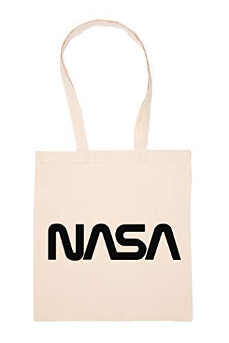 Nasa Worm Tasche Wiederverwendbar Einkaufen Lebensmittel Baumwolltuch Tote Reusable Shopping Bag