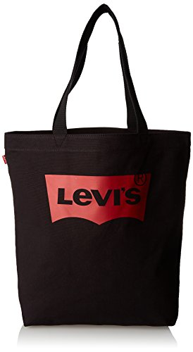 Levi's LEVIS FOOTWEAR AND ACCESSORIESBatwing Tote WMujerBolsos totesNegro (R Black) 39x14x30 centimeters (W x H x L)
