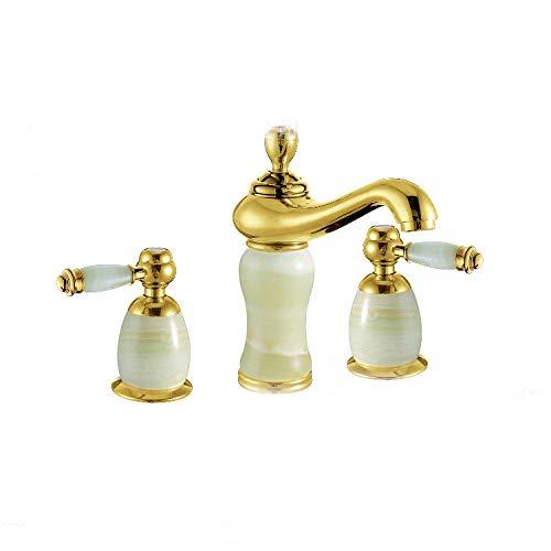 grifos de cocina fregadero grifo lavabo grifo osmosis fregadero cocina grifos lavabos grifo cocina Instalación de baño y cocina Grifo de lavabo separado de jade rosa dorado vintage