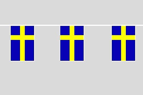 U24 vlaggenketting Zweden 6,20 m vlag vlag vlaggetje