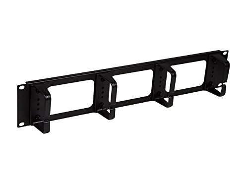 Linxcom UK 50mm Threaded Swivel Castors Pack Of 4 - Black Compatible with Linxcom UK Cabinets