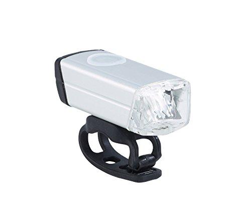 Büchel Whistler Fahrrad-Batteriebeleuchtung, silber, 51225440