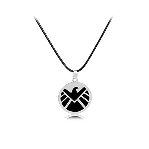 ZXLNB Marvel's Avengers S.H.I.E.L.D. Agent Aigle Collier Europe Et États-Unis Film Et Télévision Périphérique Bijoux Accessoires