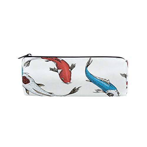 Bonie - Estuche japonés con diseño de peces koi