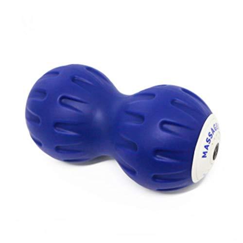 XALO Elektrische Massage Ball, Wiederaufladbare Peanut Vibrierende Foam Roller Mit 3-Modes, Deep Tissue Triggerpunkt-Sport-Massagegerät Für Die Muskelregeneration, 16Cm, Fitness