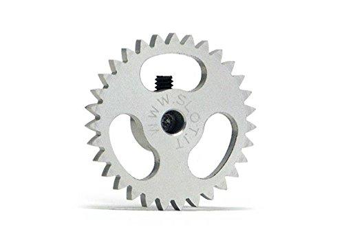 Slot.It GS1831 Couronne 31 dents Ø18mm pour moteur transversal