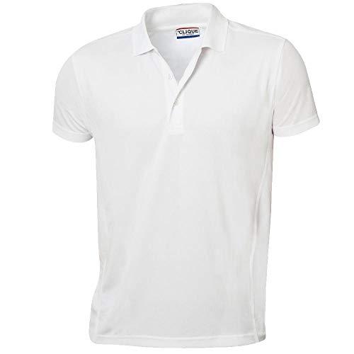 Clique - Poloshirt 'Ice Polo' / weiß (00), XL