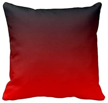 AtQuya Funda de almohada para sofá o sofá, funda de cojín de algodón, diseño de monograma, funda de almohada decorativa