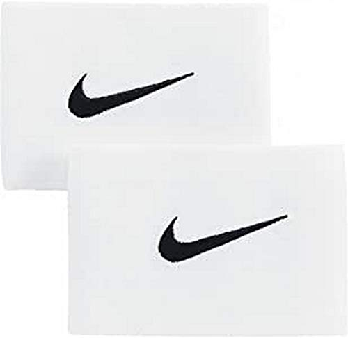 Nike Unisex's Guard Stay II Football Straps, White/Black, One siz