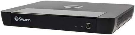 Swann NVR16-8580H 16 Channel Security System: 4K Ultra HD NVR16-8580 with 2TB HDD NVR-8580 Works with Certain Swann PoE Cameras only See Details for info
