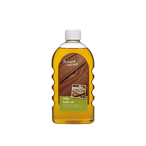 Barrettine Teak Oil for Garden Furniture, Premium-grade Wood Sealer, Easy...