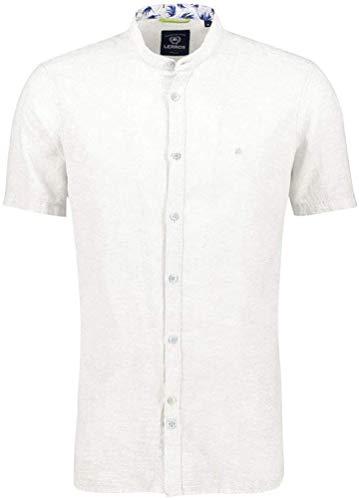 LERROS Hemd 1/2 ARM, White, weiß((100)), Gr. XXXL