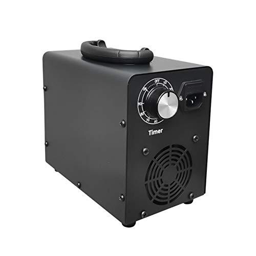 Generador De Ozono Comercial De 10000 MG/H, Purificador De Aire Industrial O3, Potentes Placas De Cerámica De Larga Duración con Temporizador para El Hogar, La Oficina, El Hotel,10000mg/h