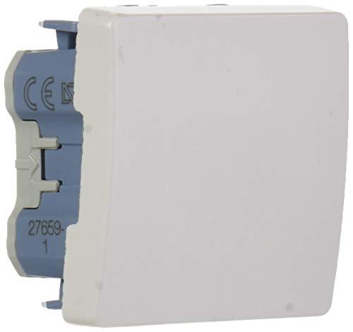 Simon - 27659-65 pulsador neutro ancho s-27 blanco Ref. 6552730207