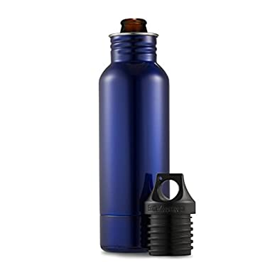 BottleKeeper 1.0 - The Original Stainless Steel Beer Bottle Holder and Insulator to Keep Your Beer Colder