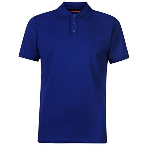 Pierre Cardin Herren Einfarbig Polo Poloshirt T Shirt Kurzarm Kragen Tee Top XL