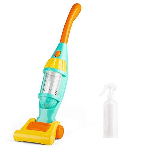 Staubsauger Spielzeug Set, Elektrischer Staubsauger Mit Lichtern, Geräuschen. Geben Sie vor. Reinigungswerkzeuge.für Kinder im Alter von 3-6 Jahren auszuprobieren