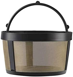 GoldTone Reusable 4 Cup Basket Mr. Coffee Replacement Coffee Filter with Mesh Bottom..