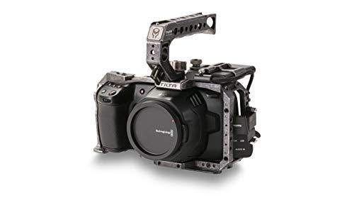 (Tactical Gray) TILTA TA-T01-B-G BMPCC 6K / BMPCC 4K Kamera Käfig Basic Kit Cage Blackmagic Pocket Cinema Camera 4K / 6K Rig (BMPCC 4K / 6K Basic Kit)