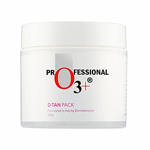 O3+ D-Tan Pack for Instant Tan Removal & Sun Damage Protection Infused with Mint and Eucalyptus Oil Ideal for All Skin Types (300g)
