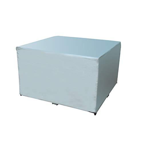 Mobilier de jardin couvre-chaise en osier extérieur table de canapé et housse de chaise couverture de meubles housse de protection étanche à la pluie 120 * 120 * 75 ( taille : 120*120*75cm )