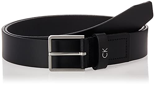 Calvin Klein Formal Belt 3.5cm Cintura, Nero (Black 001), 6 (Taglia Produttore: 90) Uomo