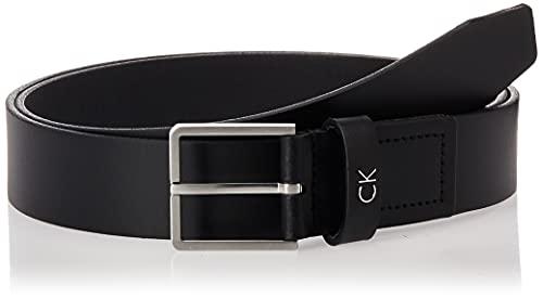 Calvin Klein Formal Belt 3.5cm Cintura, Nero (Black 001), 7 (Taglia Produttore: 95) Uomo