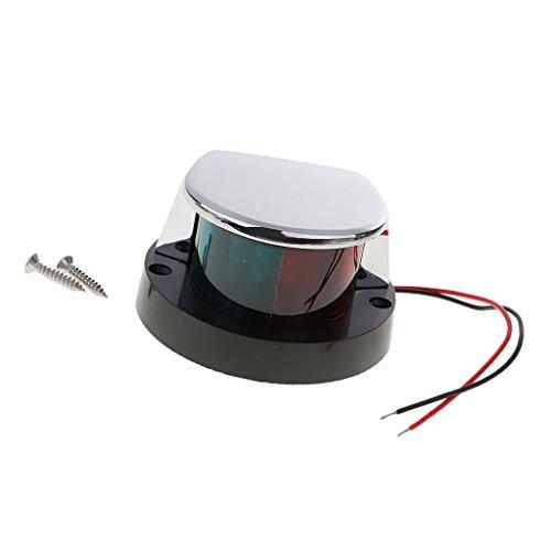 MagiDeal Lumière De Navigation LED Marine Bateau Rouge Vert