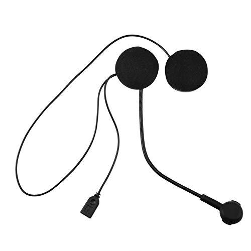Casco de motocicleta Auriculares Bluetooth 4.0, Auriculares estéreo inalámbricos Bluetooth HIFI, Auriculares manos libres Bluetooth con micrófono para casco de motocicleta, Desmontable libremente