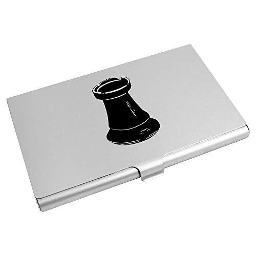 Azeeda 'Turm Schachfigur' Visitenkarten-etui (CH00024900)