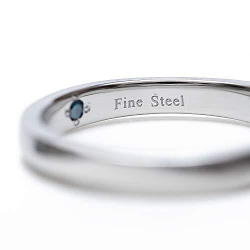 BLOOM(ブルーム)『ファインスティールブルーダイヤモンドペアリング』