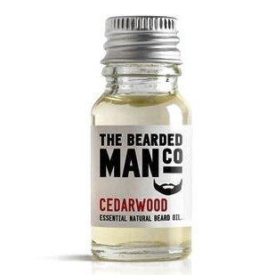 The Bearded Man Company Huile Spécial barbe Bois de cèdre 10 ml