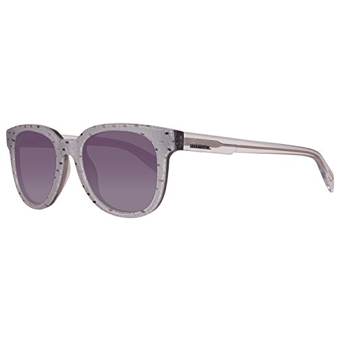 Diesel Sonnenbrille DL0137 5224P Gafas de sol, Transparente (Transparent), 52 Unisex Adulto